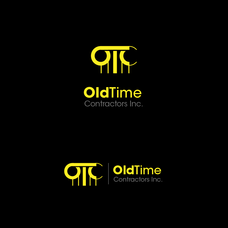 Logo Design by zesthar - Entry No. 93 in the Logo Design Contest Old Time Contractors, Inc. (new brand:  OTC, Inc.) Logo Design.