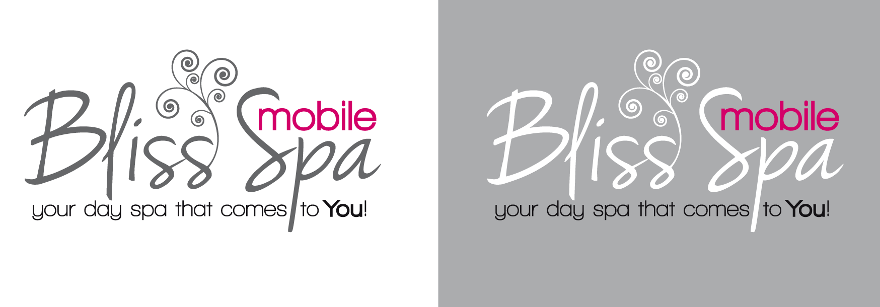 Logo Design by luna - Entry No. 51 in the Logo Design Contest New Logo Design for Bliss Spa Mobile.