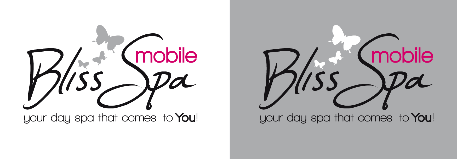 Logo Design by luna - Entry No. 52 in the Logo Design Contest New Logo Design for Bliss Spa Mobile.