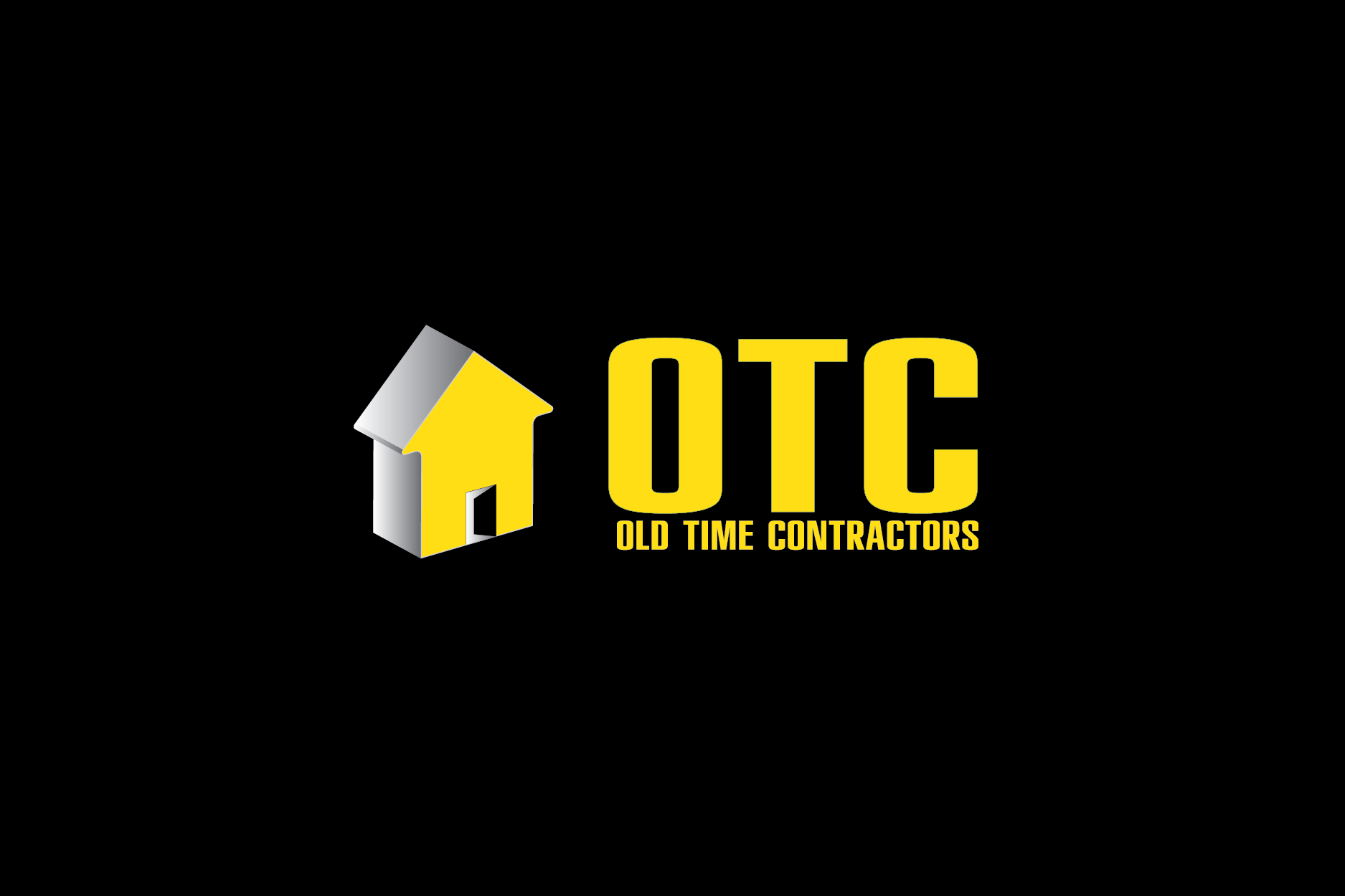 Logo Design by Moin Javed - Entry No. 96 in the Logo Design Contest Old Time Contractors, Inc. (new brand:  OTC, Inc.) Logo Design.