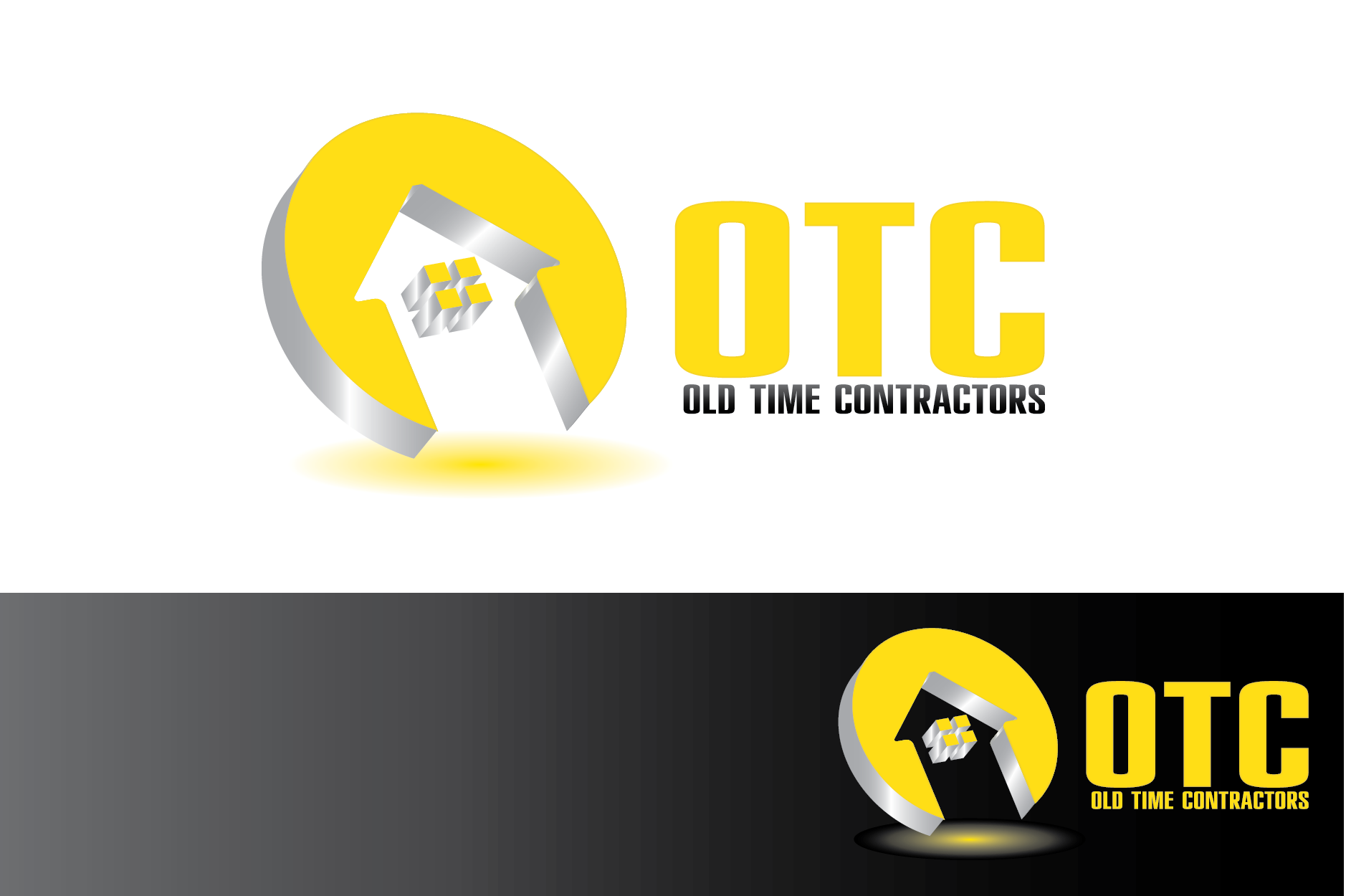 Logo Design by Moin Javed - Entry No. 98 in the Logo Design Contest Old Time Contractors, Inc. (new brand:  OTC, Inc.) Logo Design.