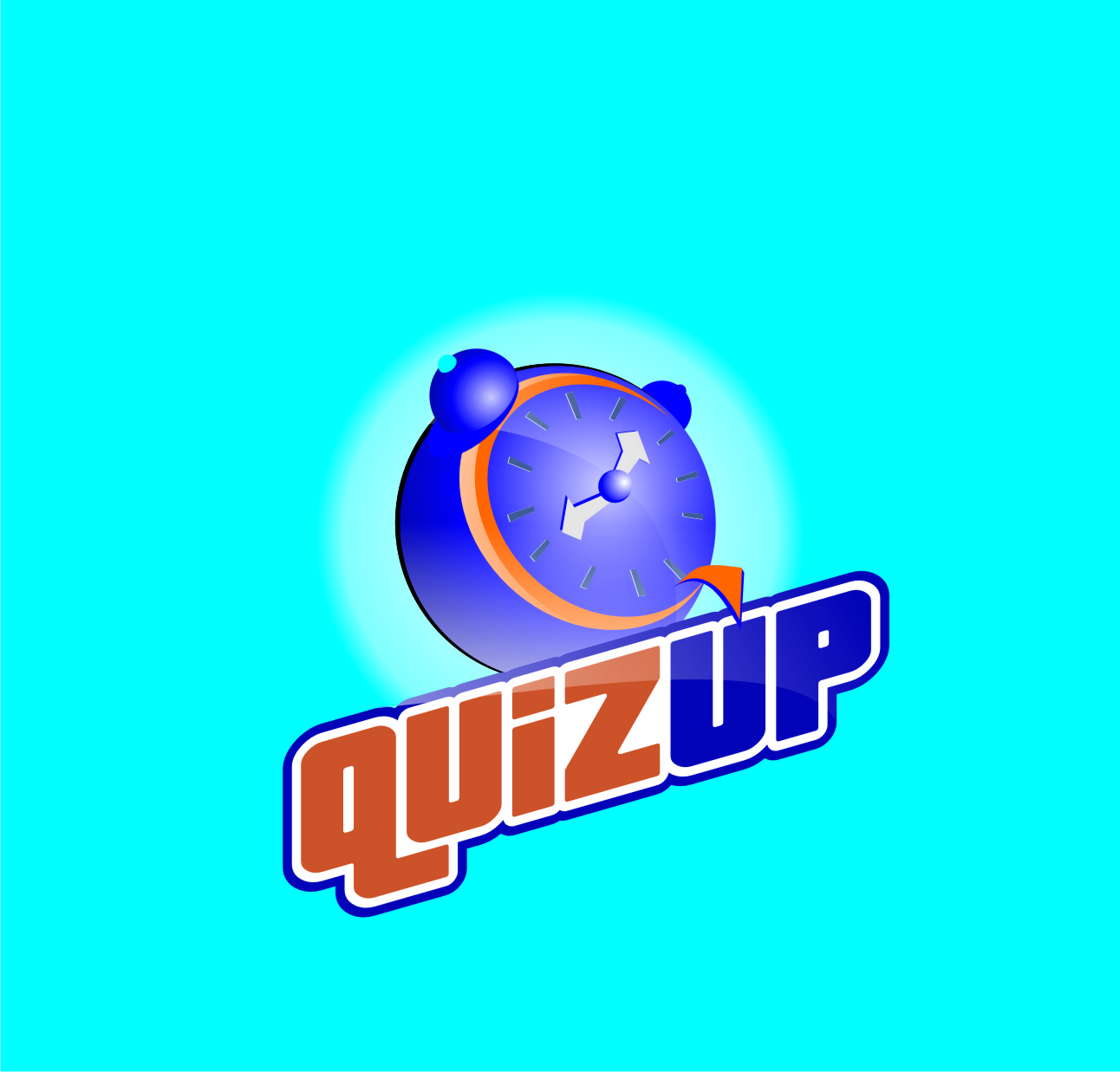 Logo Design by Private User - Entry No. 56 in the Logo Design Contest Logo Design for QuizUp app.
