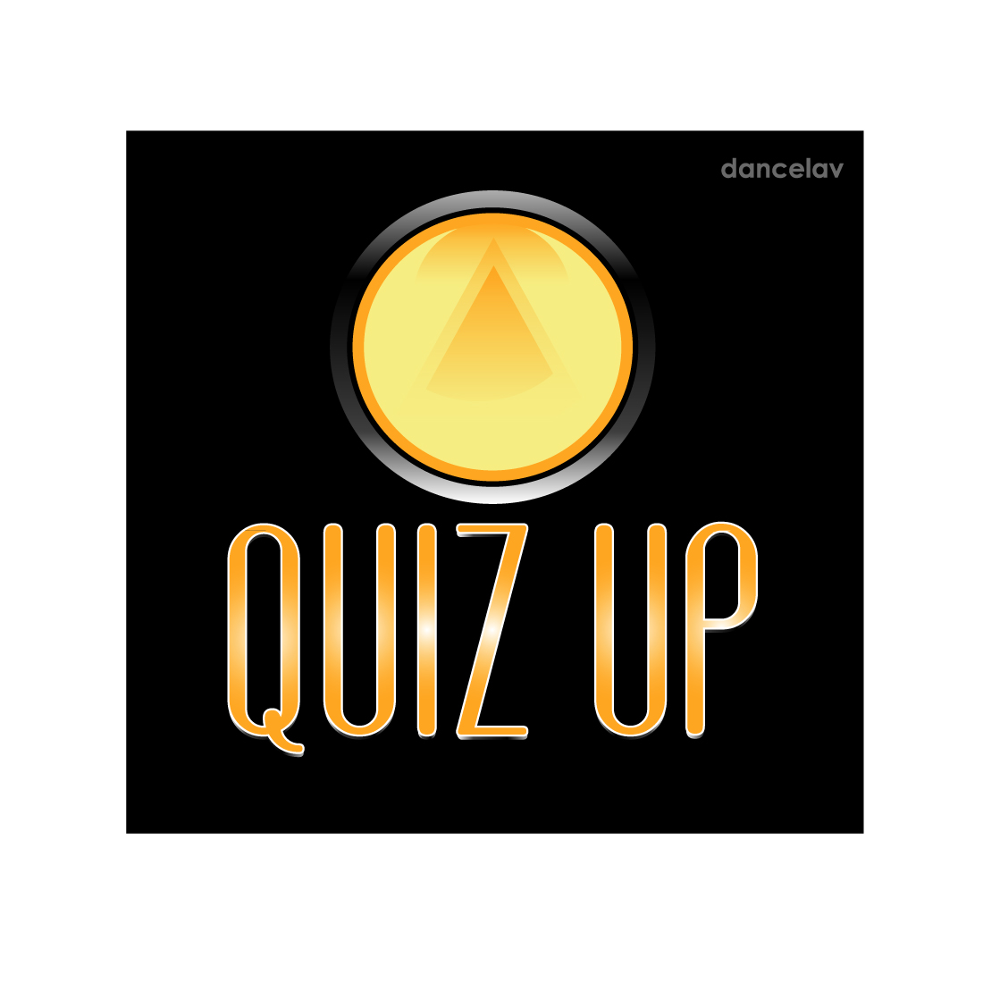 Logo Design by Dan Cristian - Entry No. 57 in the Logo Design Contest Logo Design for QuizUp app.