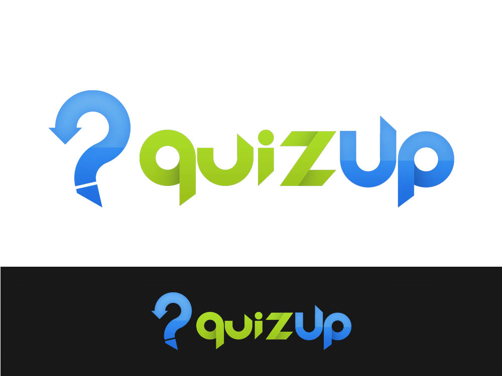 Logo Design by Juliano Santos - Entry No. 58 in the Logo Design Contest Logo Design for QuizUp app.