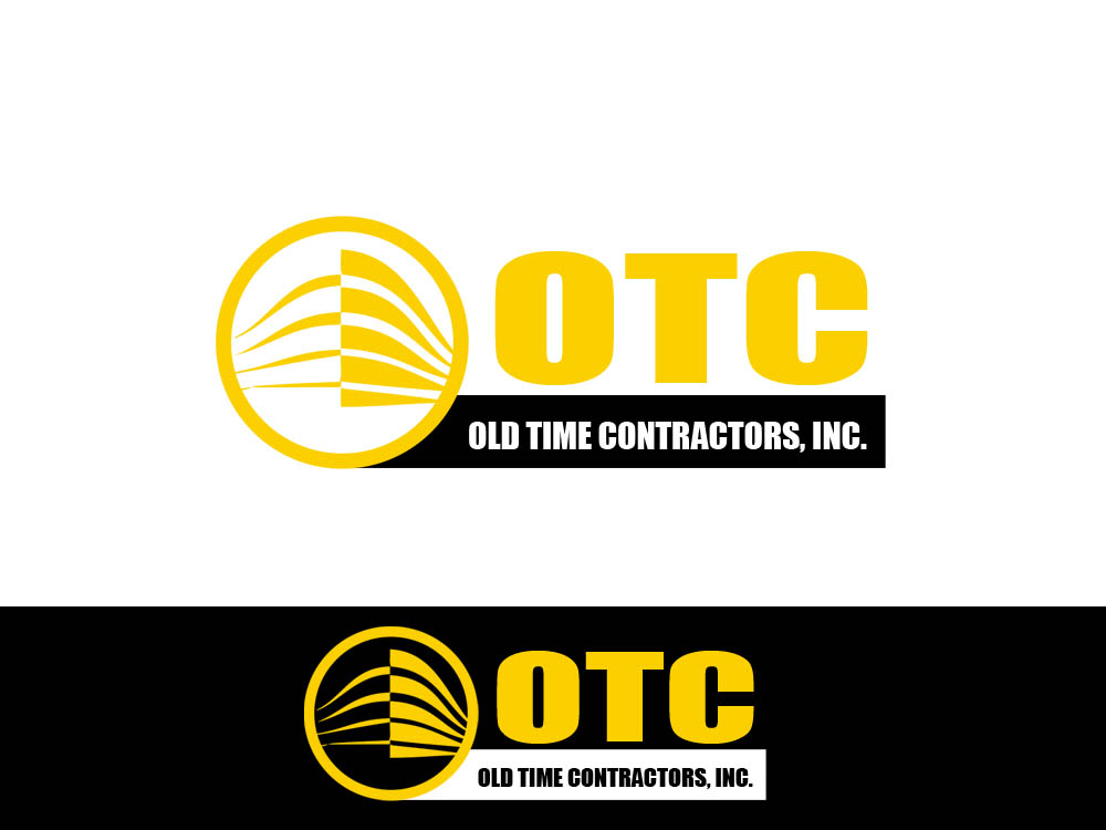 Logo Design by Juliano Santos - Entry No. 108 in the Logo Design Contest Old Time Contractors, Inc. (new brand:  OTC, Inc.) Logo Design.