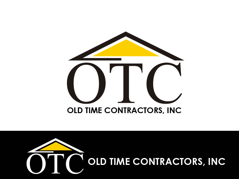 Logo Design by Juliano Santos - Entry No. 109 in the Logo Design Contest Old Time Contractors, Inc. (new brand:  OTC, Inc.) Logo Design.
