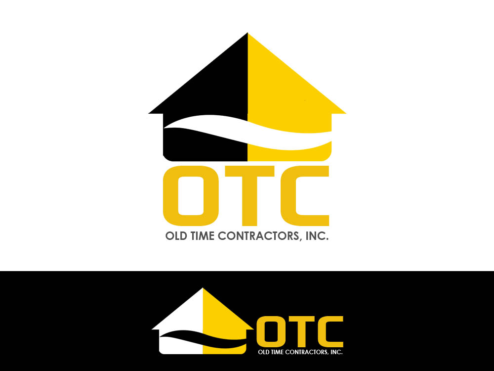 Logo Design by Juliano Santos - Entry No. 110 in the Logo Design Contest Old Time Contractors, Inc. (new brand:  OTC, Inc.) Logo Design.