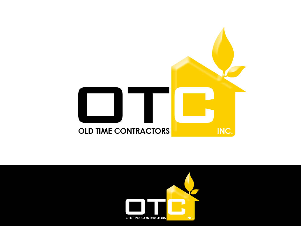 Logo Design by Juliano Santos - Entry No. 112 in the Logo Design Contest Old Time Contractors, Inc. (new brand:  OTC, Inc.) Logo Design.