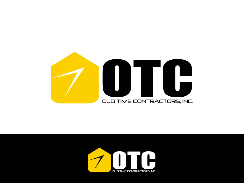 Logo Design by Juliano Santos - Entry No. 113 in the Logo Design Contest Old Time Contractors, Inc. (new brand:  OTC, Inc.) Logo Design.