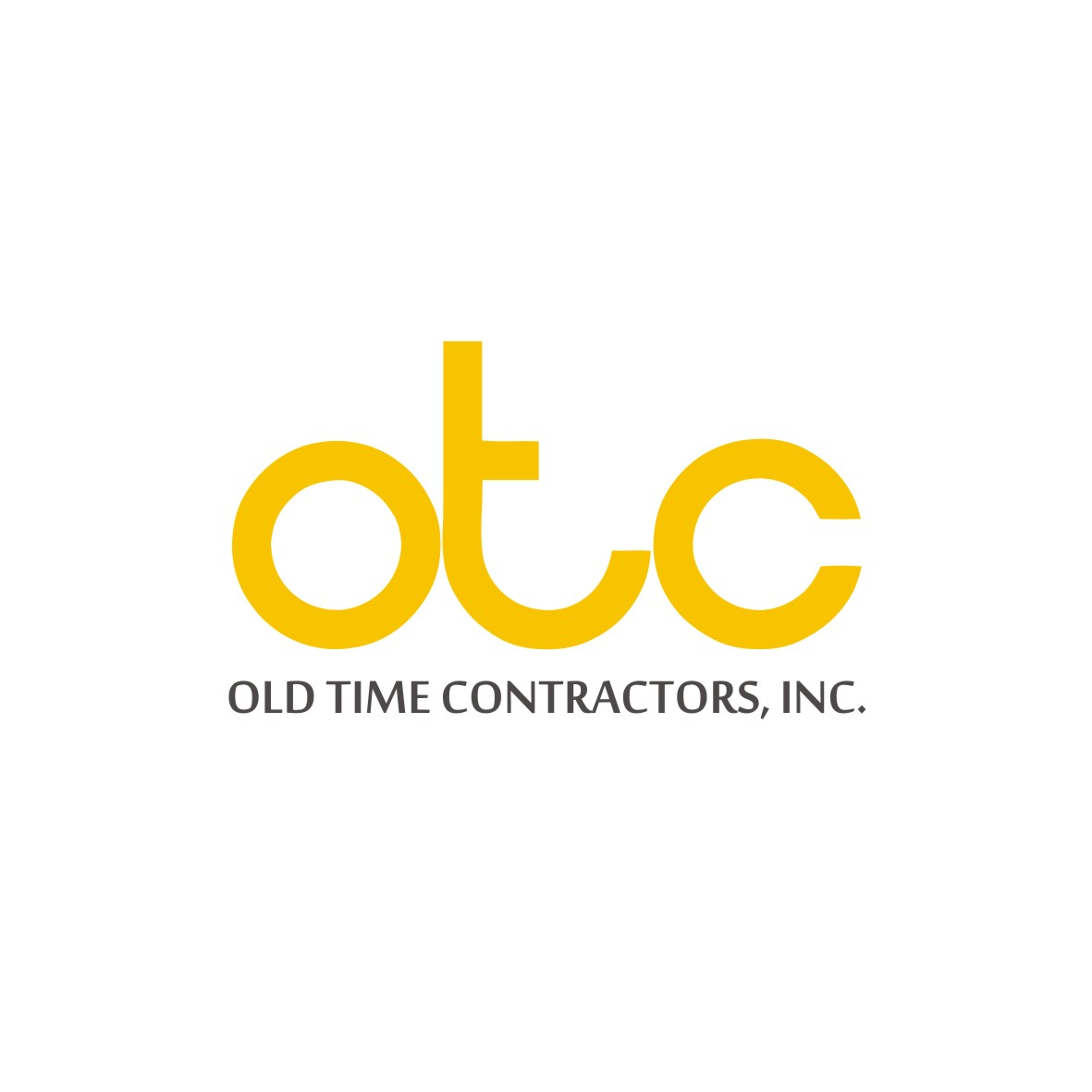Logo Design by arteo_design - Entry No. 114 in the Logo Design Contest Old Time Contractors, Inc. (new brand:  OTC, Inc.) Logo Design.
