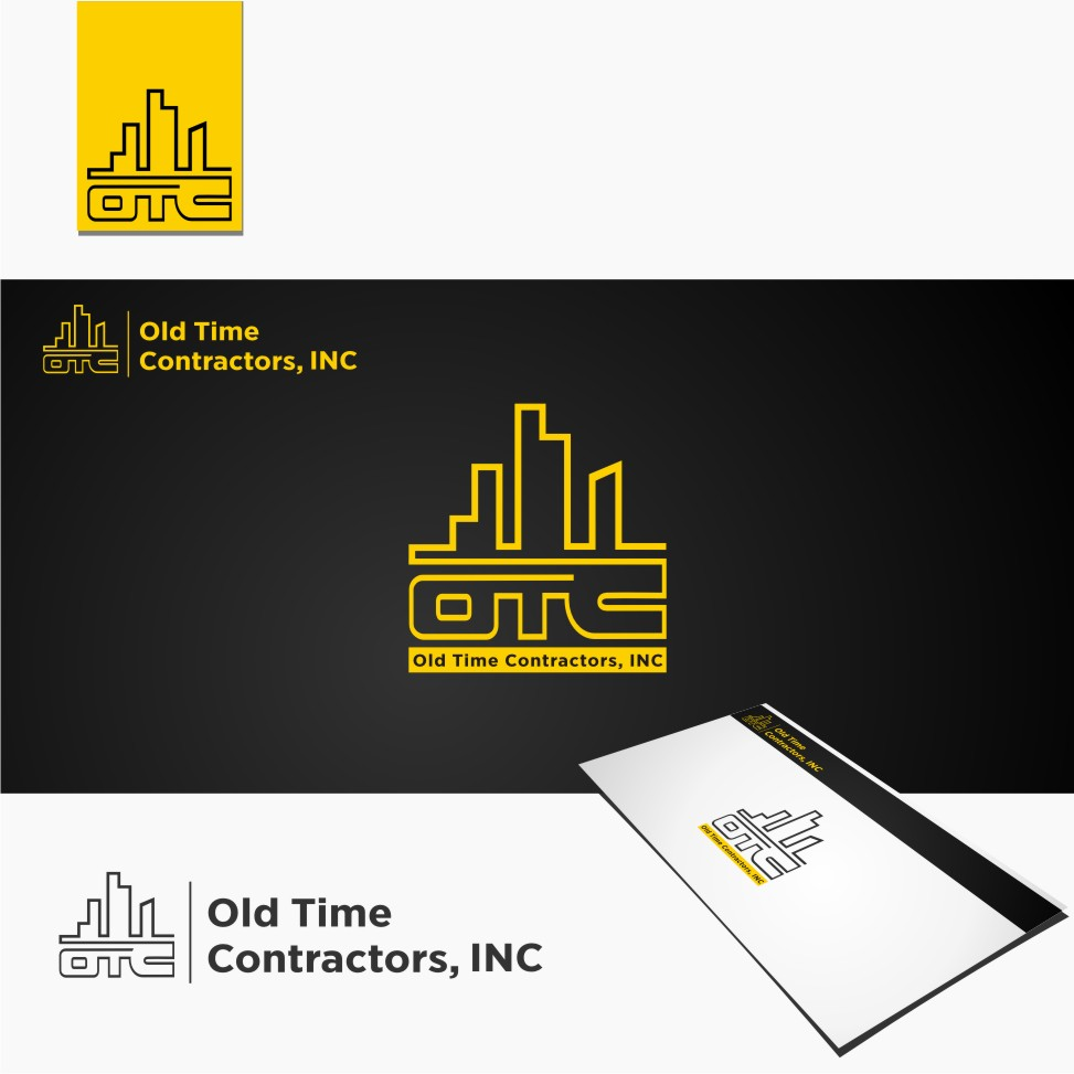 Logo Design by graphicleaf - Entry No. 115 in the Logo Design Contest Old Time Contractors, Inc. (new brand:  OTC, Inc.) Logo Design.