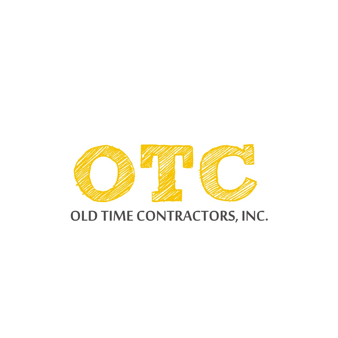Logo Design by arteo_design - Entry No. 116 in the Logo Design Contest Old Time Contractors, Inc. (new brand:  OTC, Inc.) Logo Design.