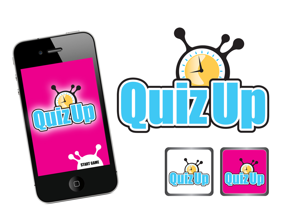 Logo Design by marikisoti - Entry No. 62 in the Logo Design Contest Logo Design for QuizUp app.