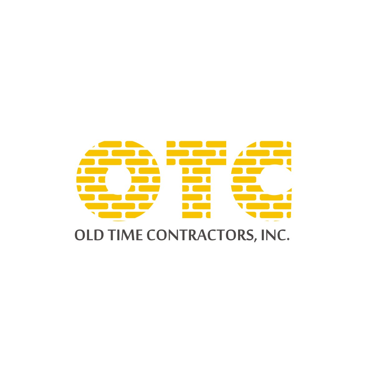 Logo Design by arteo_design - Entry No. 117 in the Logo Design Contest Old Time Contractors, Inc. (new brand:  OTC, Inc.) Logo Design.