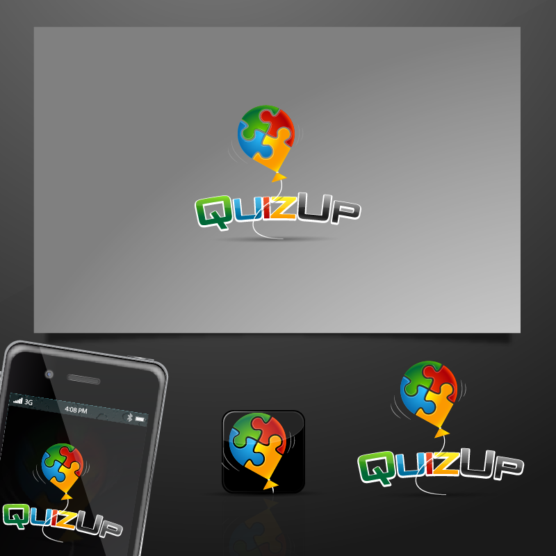 Logo Design by zesthar - Entry No. 63 in the Logo Design Contest Logo Design for QuizUp app.