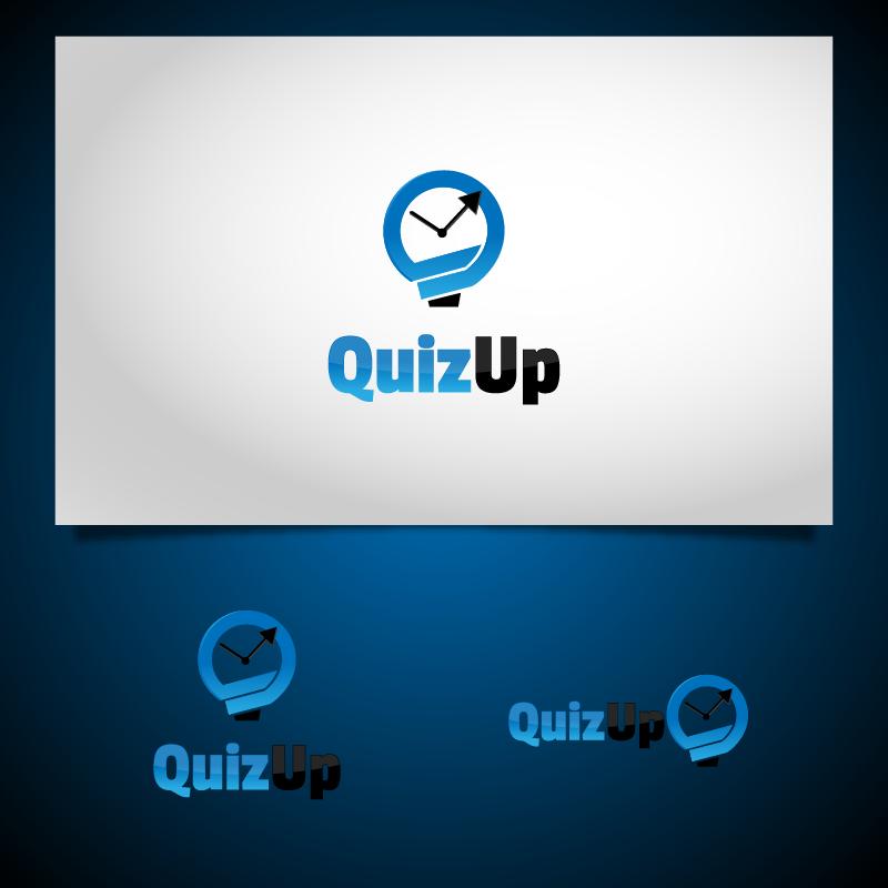 Logo Design by zesthar - Entry No. 65 in the Logo Design Contest Logo Design for QuizUp app.