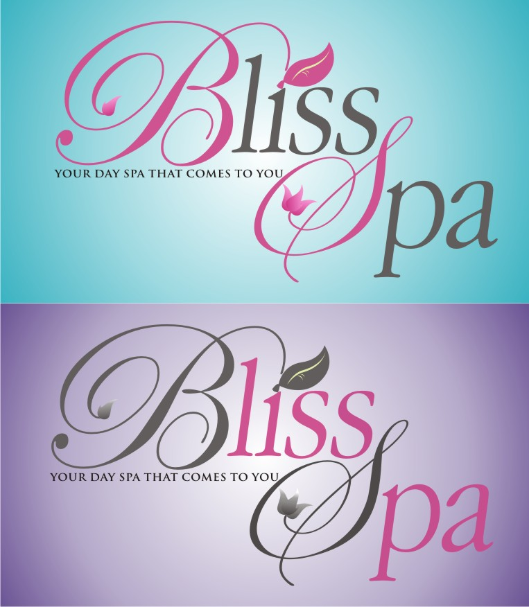 Logo Design by kambal - Entry No. 71 in the Logo Design Contest New Logo Design for Bliss Spa Mobile.
