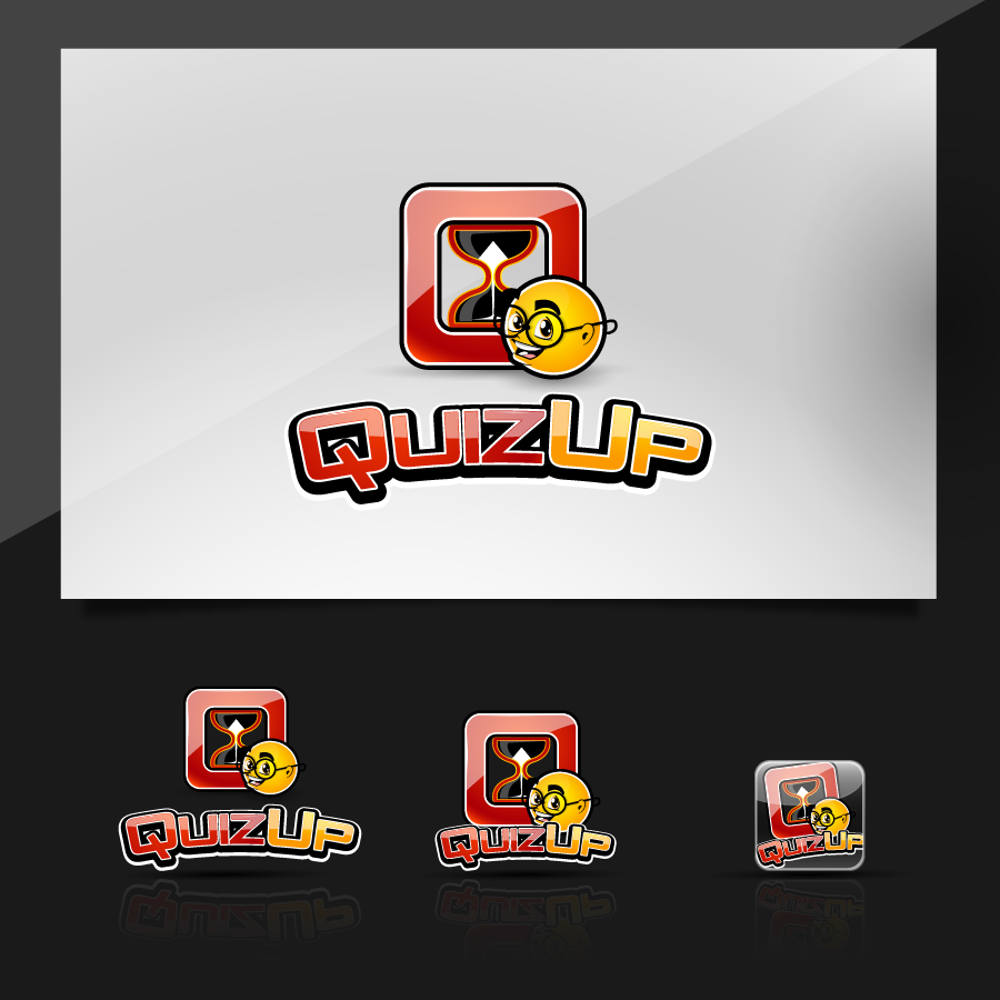 Logo Design by zesthar - Entry No. 66 in the Logo Design Contest Logo Design for QuizUp app.
