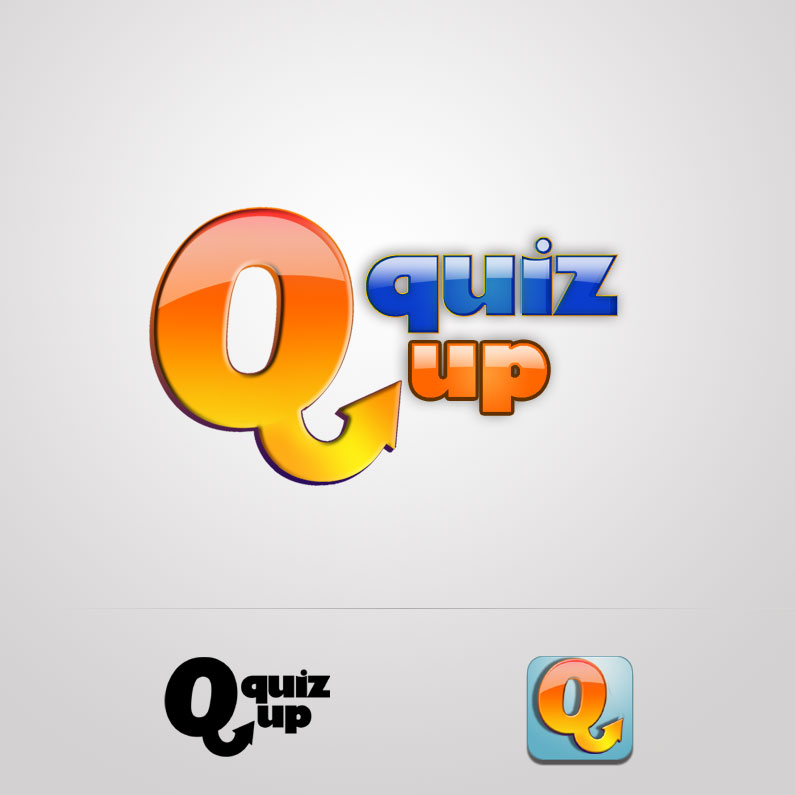 Logo Design by Tanya Kucey - Entry No. 69 in the Logo Design Contest Logo Design for QuizUp app.