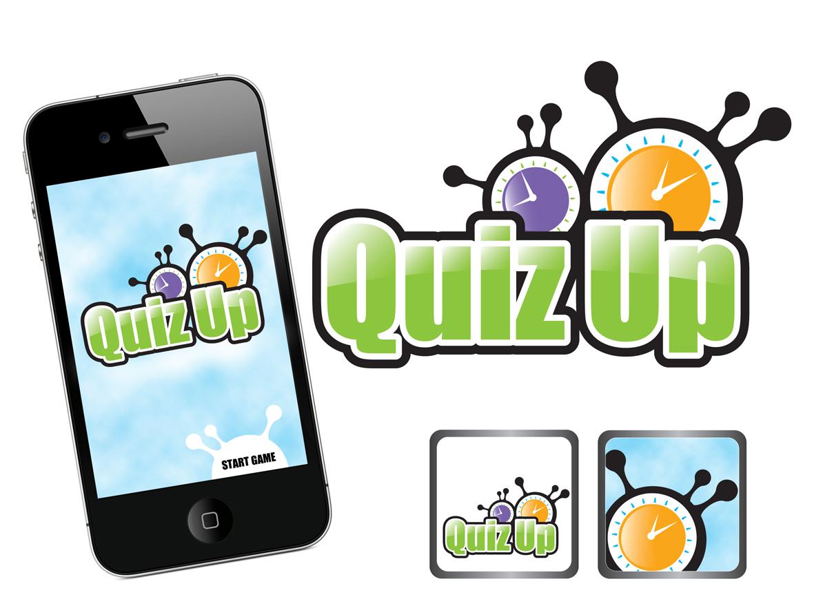 Logo Design by marikisoti - Entry No. 73 in the Logo Design Contest Logo Design for QuizUp app.