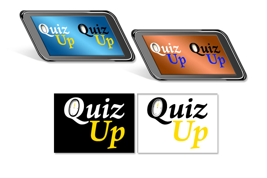 Logo Design by Private User - Entry No. 75 in the Logo Design Contest Logo Design for QuizUp app.