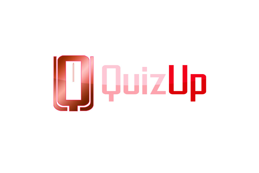 Logo Design by Private User - Entry No. 76 in the Logo Design Contest Logo Design for QuizUp app.