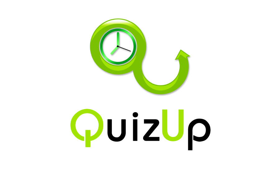 Logo Design by Private User - Entry No. 79 in the Logo Design Contest Logo Design for QuizUp app.