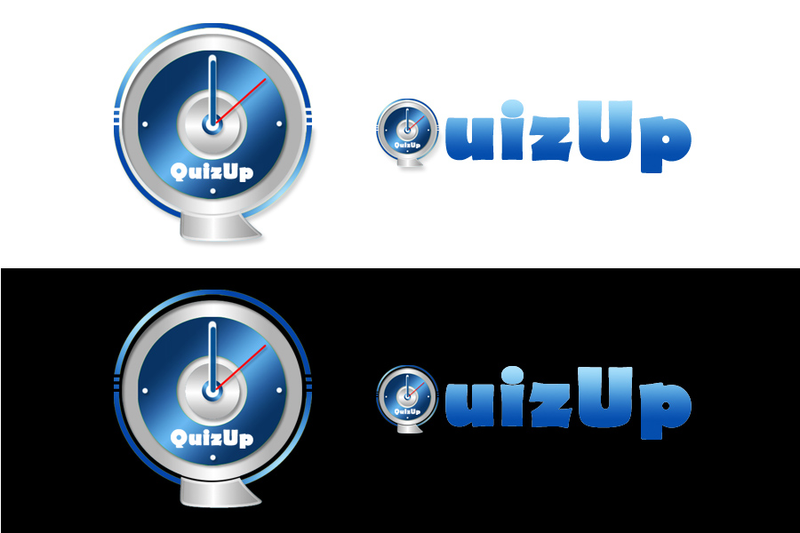 Logo Design by Private User - Entry No. 85 in the Logo Design Contest Logo Design for QuizUp app.