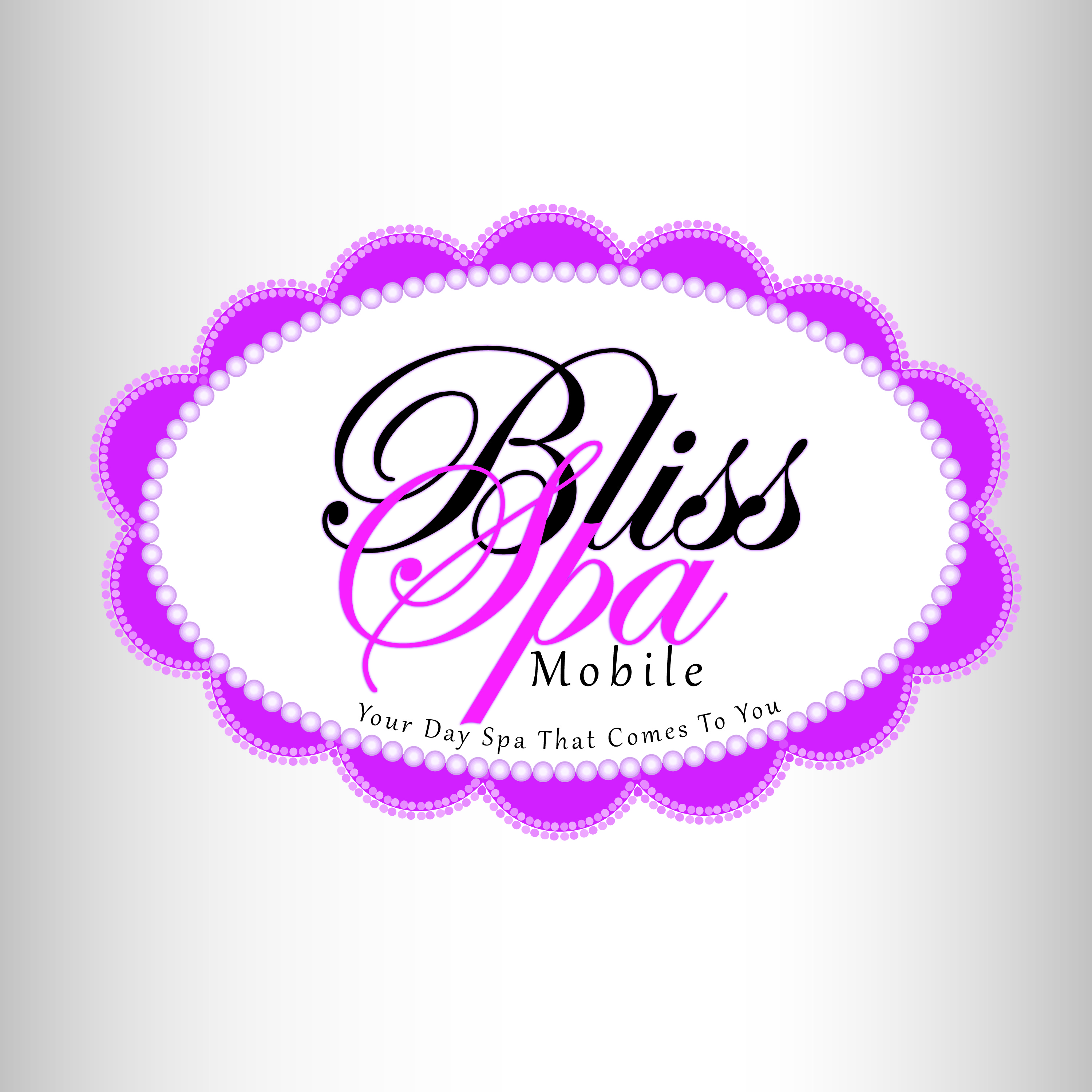 Logo Design by Ricky Frutos - Entry No. 79 in the Logo Design Contest New Logo Design for Bliss Spa Mobile.