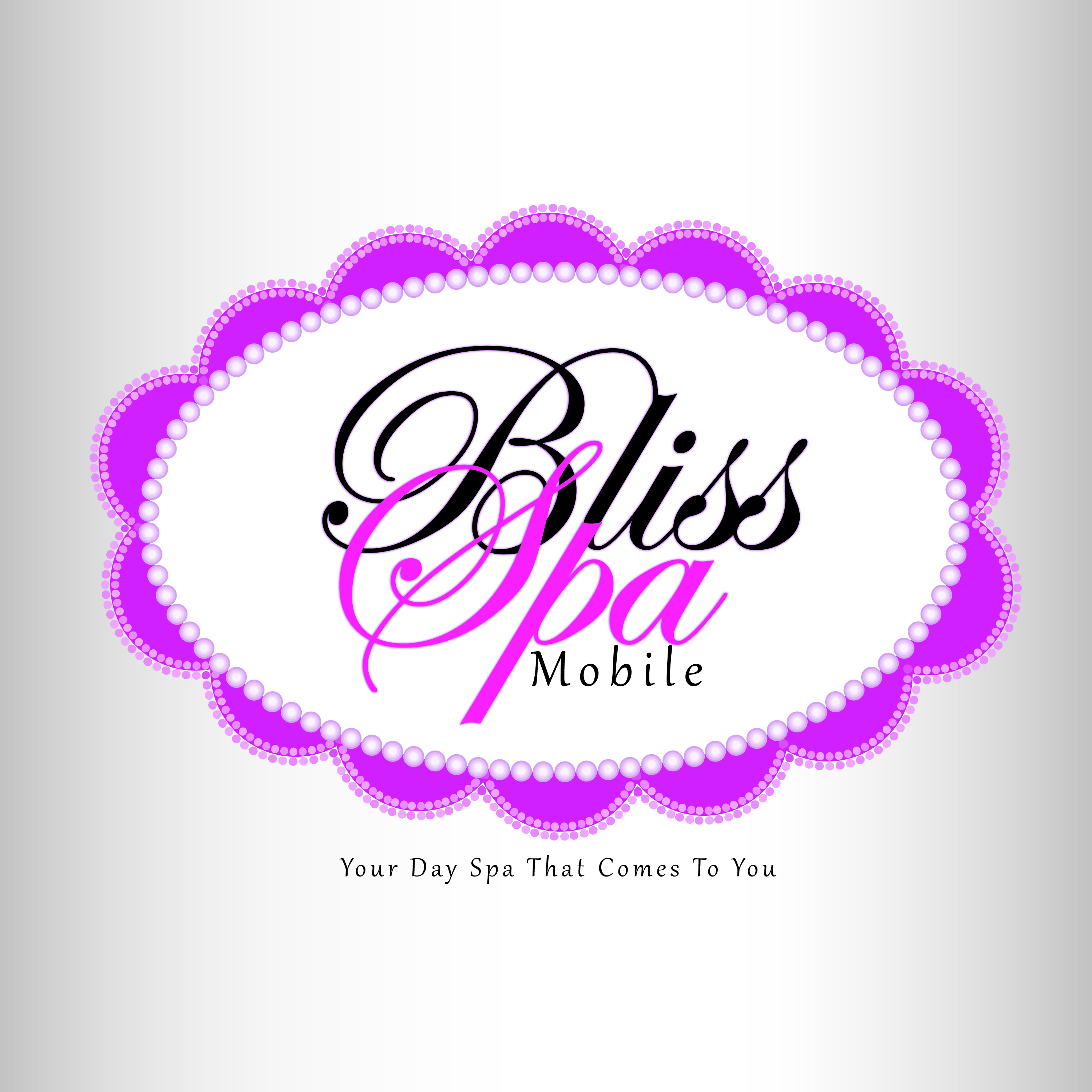 Logo Design by Ricky Frutos - Entry No. 80 in the Logo Design Contest New Logo Design for Bliss Spa Mobile.