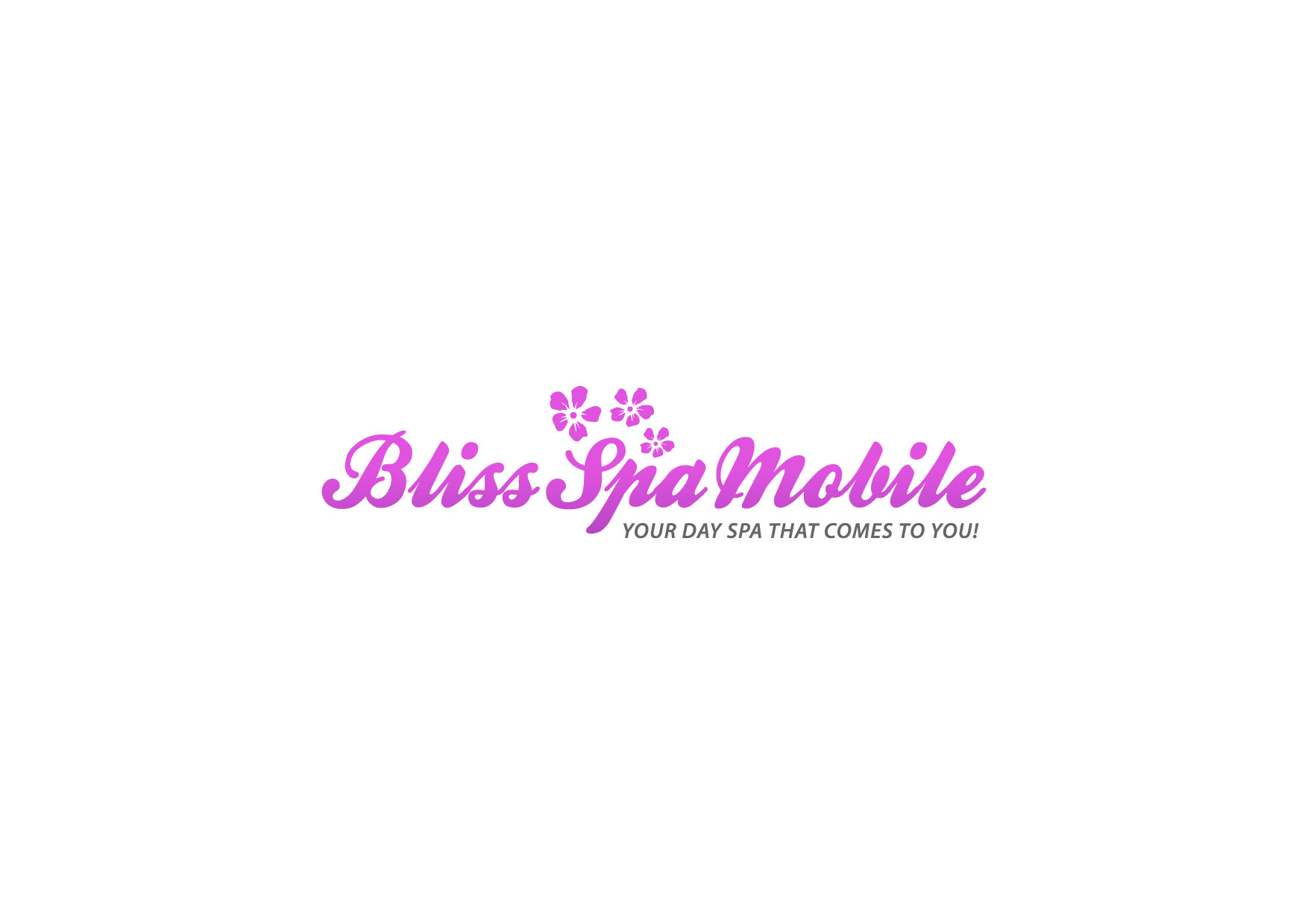 Logo Design by Nurgalih Destianto - Entry No. 81 in the Logo Design Contest New Logo Design for Bliss Spa Mobile.