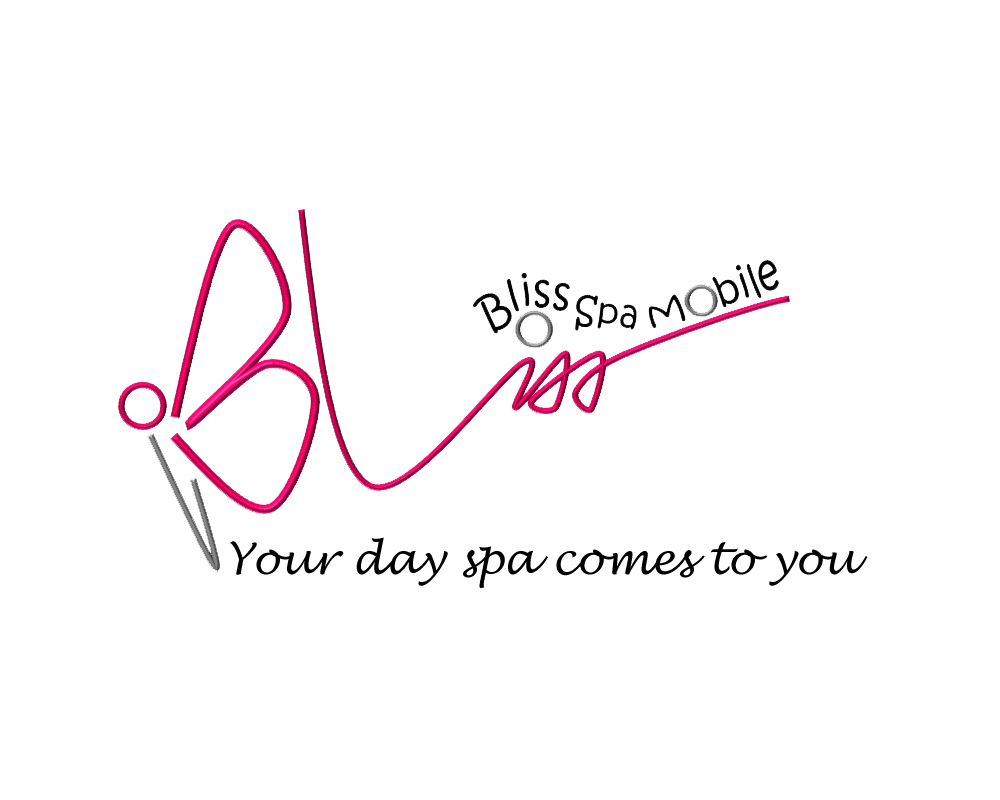 Logo Design by Butz Udy - Entry No. 93 in the Logo Design Contest New Logo Design for Bliss Spa Mobile.