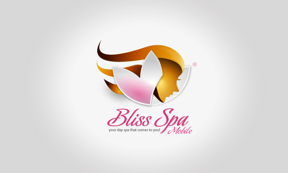 Logo Design by Fabian Naranjo - Entry No. 106 in the Logo Design Contest New Logo Design for Bliss Spa Mobile.