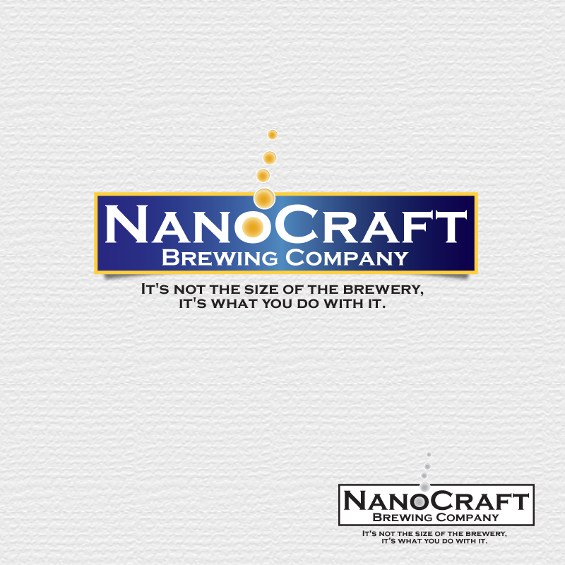 Logo Design by storm - Entry No. 2 in the Logo Design Contest Unique Logo Design Wanted for NanoCraft Brewing Company.