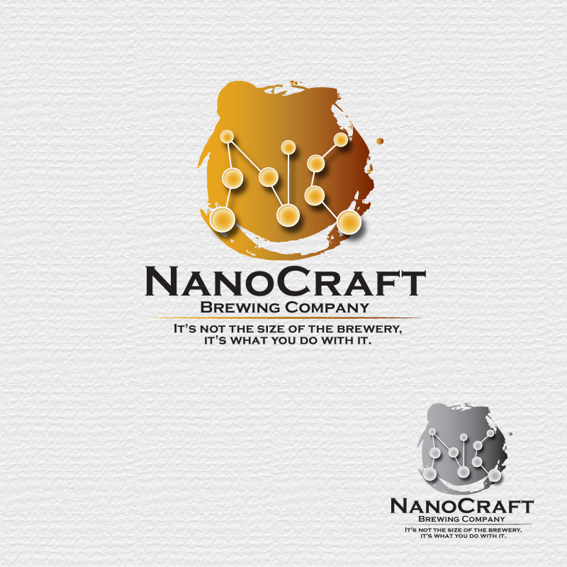 Logo Design by storm - Entry No. 3 in the Logo Design Contest Unique Logo Design Wanted for NanoCraft Brewing Company.