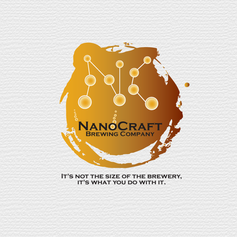 Logo Design by storm - Entry No. 5 in the Logo Design Contest Unique Logo Design Wanted for NanoCraft Brewing Company.