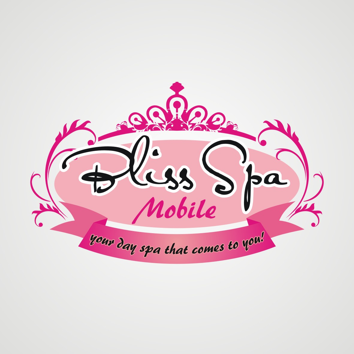 Logo Design by arteo_design - Entry No. 117 in the Logo Design Contest New Logo Design for Bliss Spa Mobile.