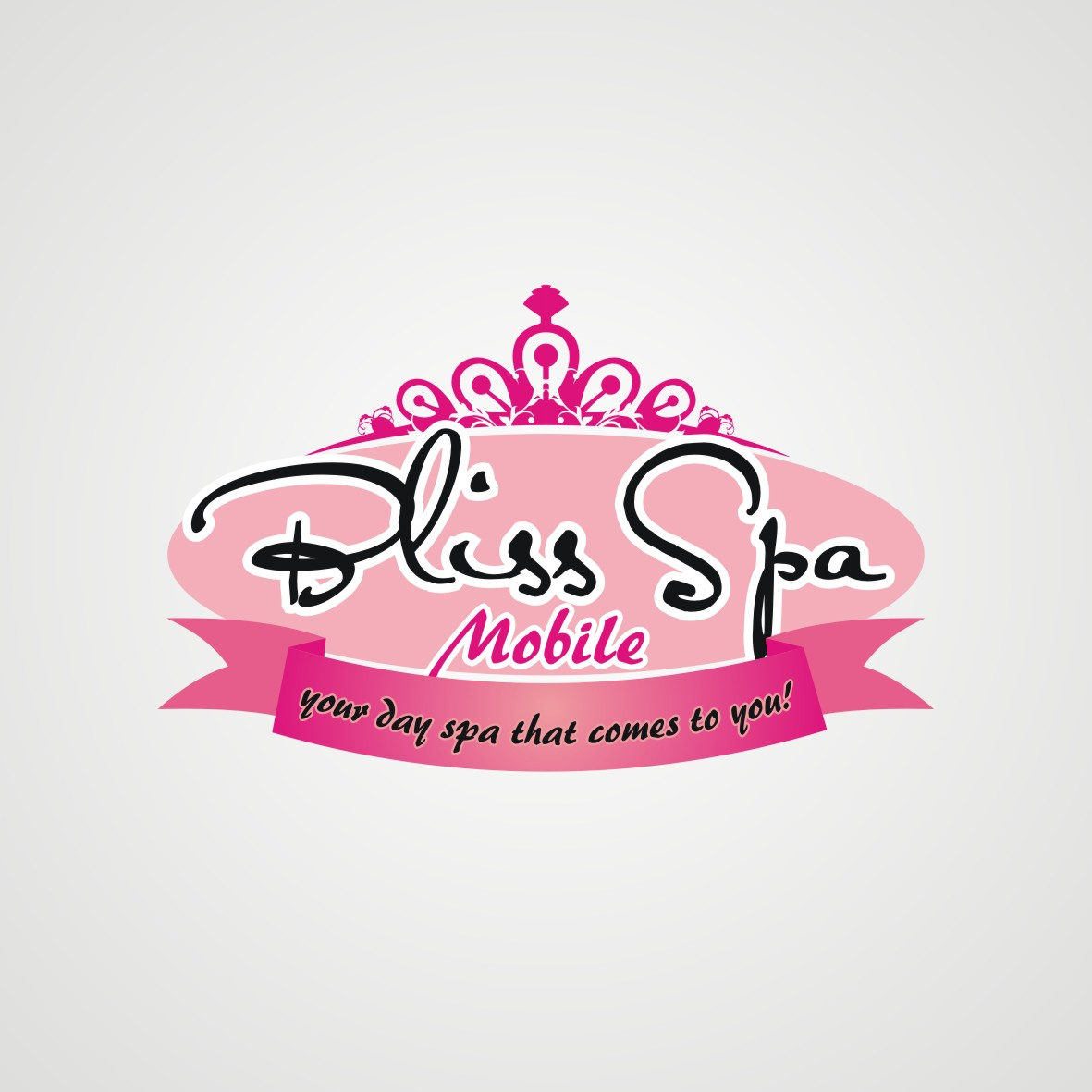 Logo Design by arteo_design - Entry No. 118 in the Logo Design Contest New Logo Design for Bliss Spa Mobile.