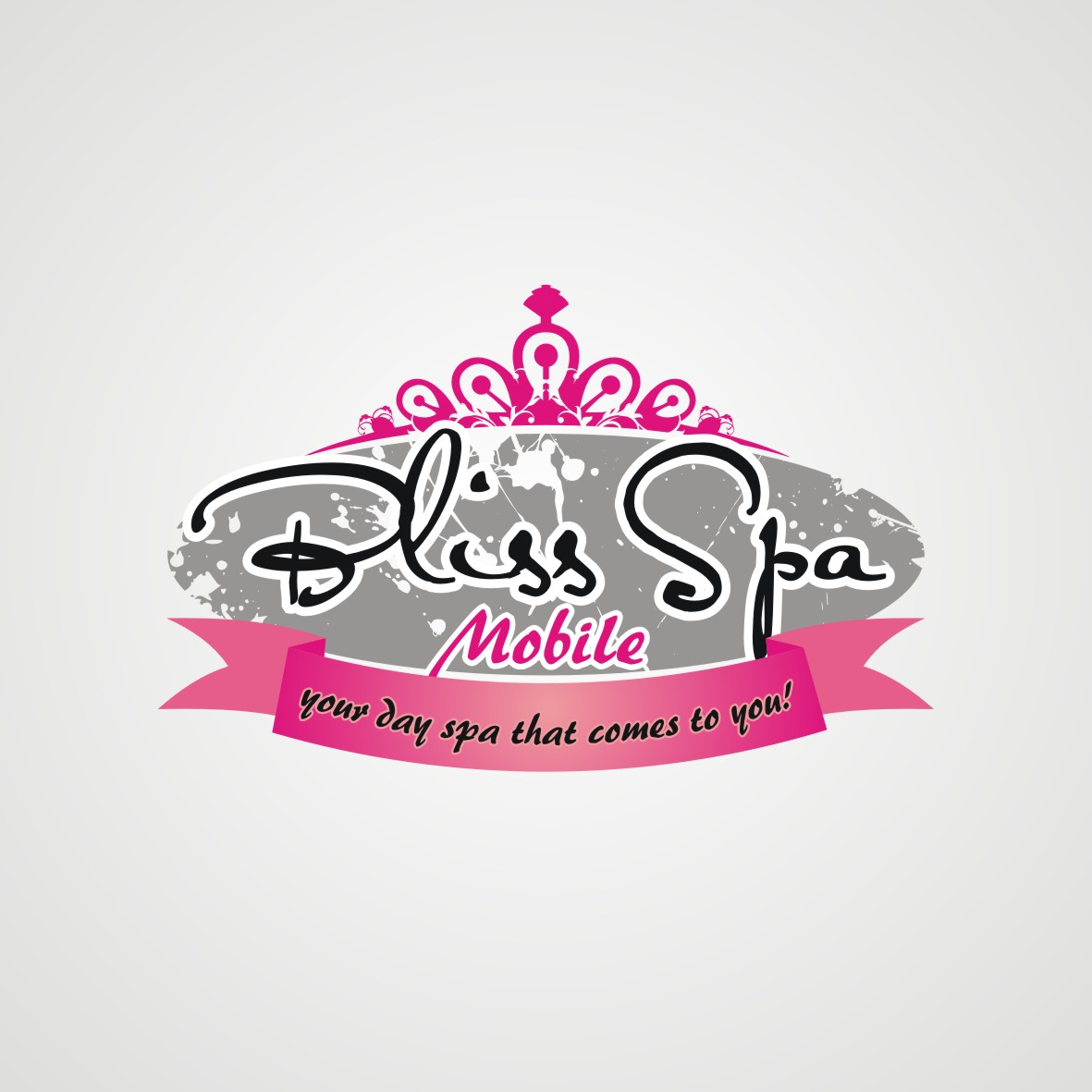 Logo Design by arteo_design - Entry No. 120 in the Logo Design Contest New Logo Design for Bliss Spa Mobile.