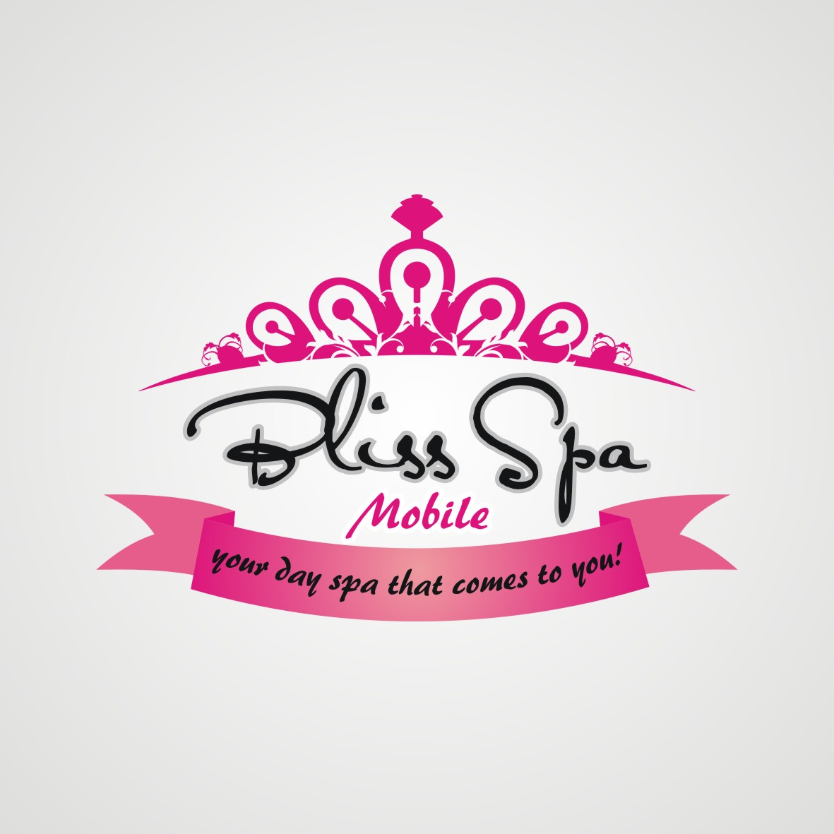 Logo Design by arteo_design - Entry No. 121 in the Logo Design Contest New Logo Design for Bliss Spa Mobile.