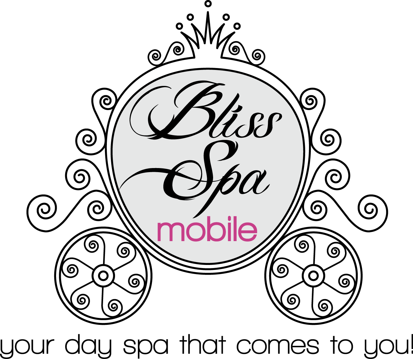 Logo Design by luna - Entry No. 122 in the Logo Design Contest New Logo Design for Bliss Spa Mobile.