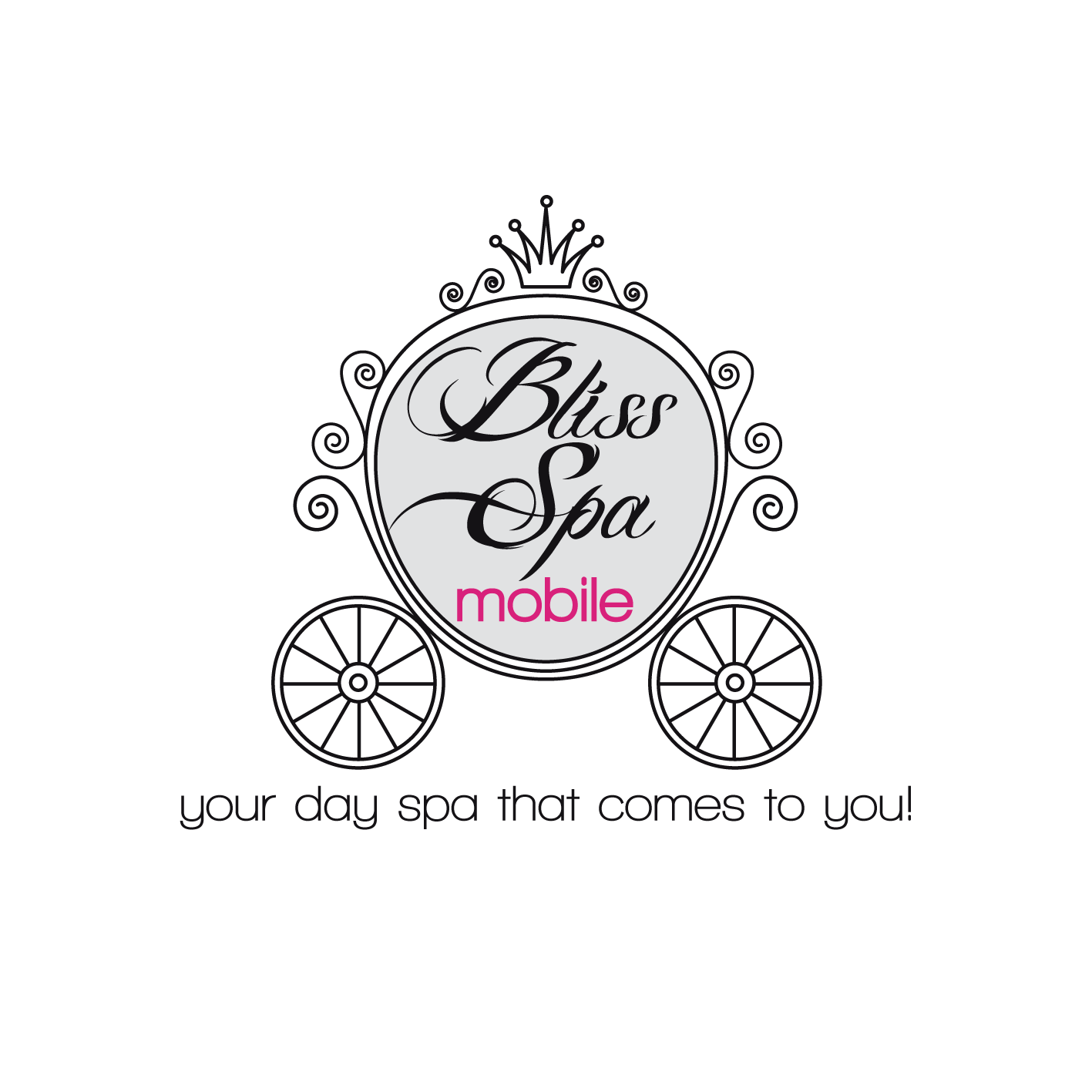 Logo Design by luna - Entry No. 123 in the Logo Design Contest New Logo Design for Bliss Spa Mobile.