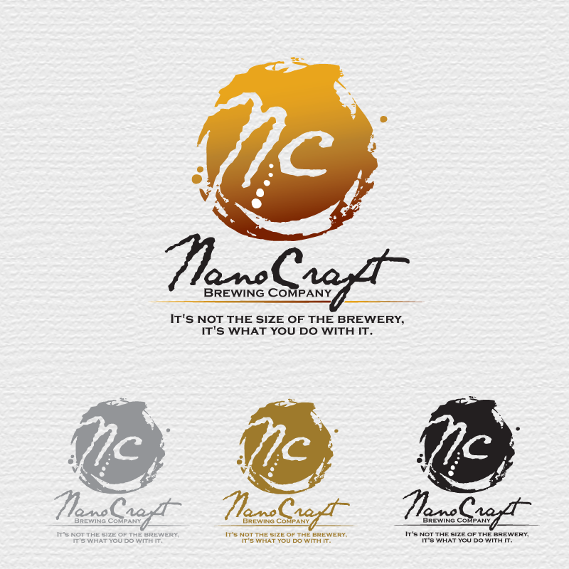 Logo Design by storm - Entry No. 6 in the Logo Design Contest Unique Logo Design Wanted for NanoCraft Brewing Company.