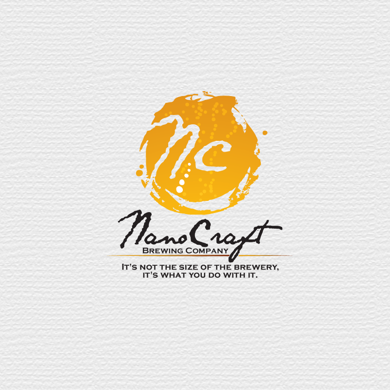 Logo Design by storm - Entry No. 11 in the Logo Design Contest Unique Logo Design Wanted for NanoCraft Brewing Company.