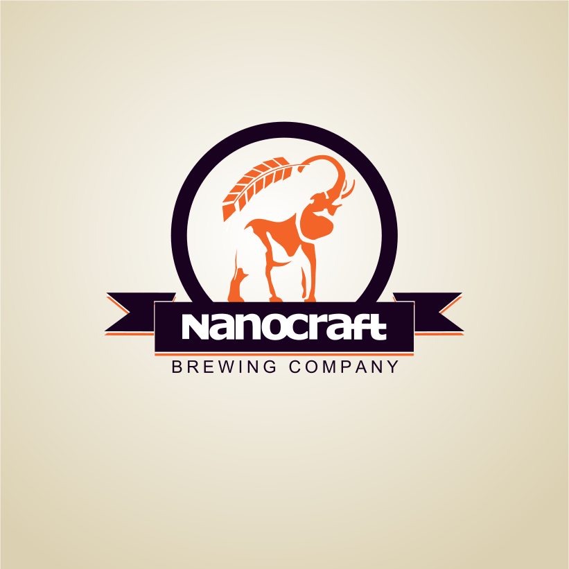 Logo Design by Jorge Sardon - Entry No. 16 in the Logo Design Contest Unique Logo Design Wanted for NanoCraft Brewing Company.