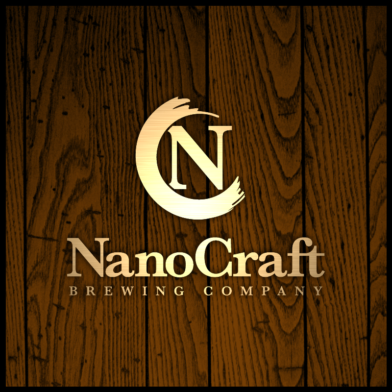 Logo Design by Number-Eight-Design - Entry No. 21 in the Logo Design Contest Unique Logo Design Wanted for NanoCraft Brewing Company.