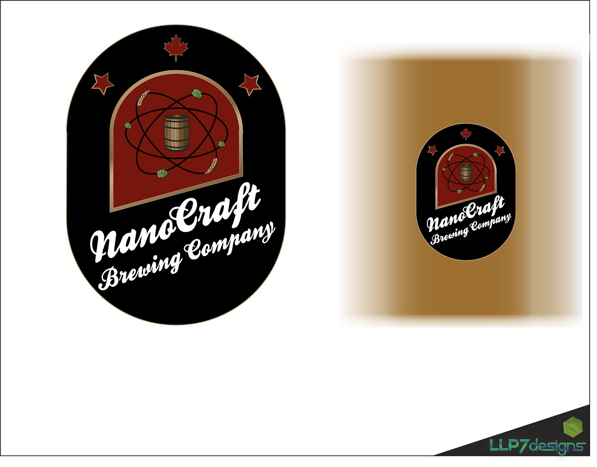 Logo Design by LLP7 - Entry No. 22 in the Logo Design Contest Unique Logo Design Wanted for NanoCraft Brewing Company.