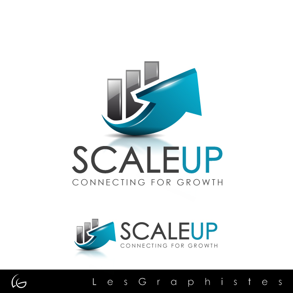 Logo Design by Les-Graphistes - Entry No. 13 in the Logo Design Contest Logo Design for scaleUp a consulting & event management company.