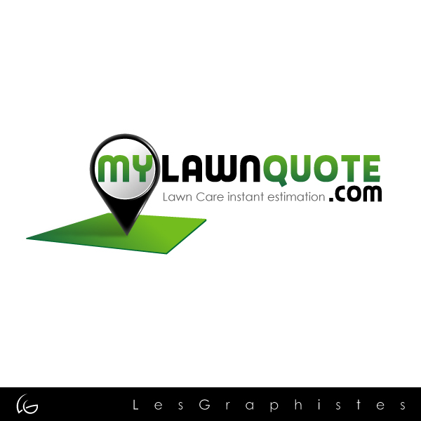 Logo Design by Les-Graphistes - Entry No. 10 in the Logo Design Contest Logo Design Needed for Exciting New Company mylawnquote.com.