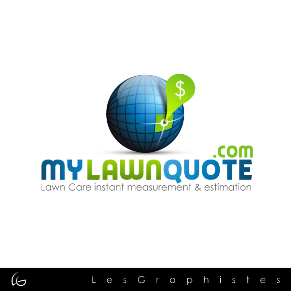 Logo Design by Les-Graphistes - Entry No. 11 in the Logo Design Contest Logo Design Needed for Exciting New Company mylawnquote.com.